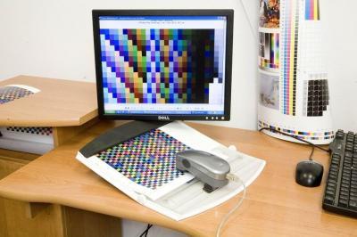 próbnik kolorów do wydruku