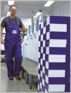 wydrukowane arkusze